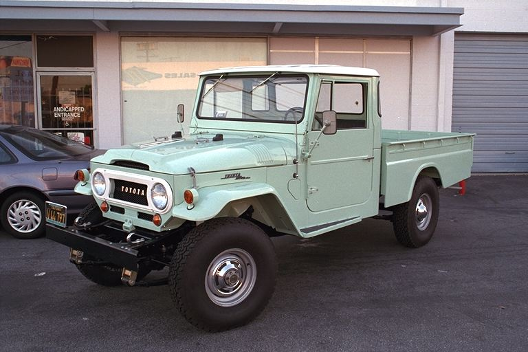 TLC Restored FJ45 LWB Pickup